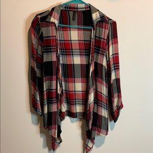 Red & black plaid flannel